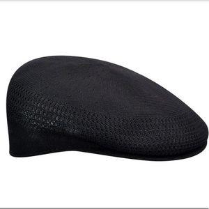 KANGOL TROPIC 504 VENTAIR BLACK HAT MEDIUM